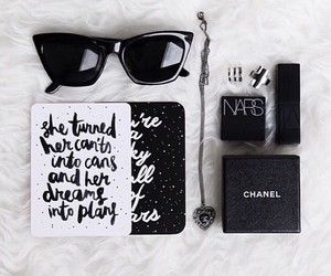 chanel, fashion, and nars image