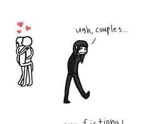 couple, funny, and fictional image