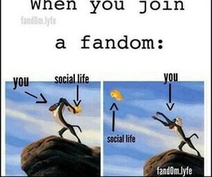 fandom, funny, and lion king image