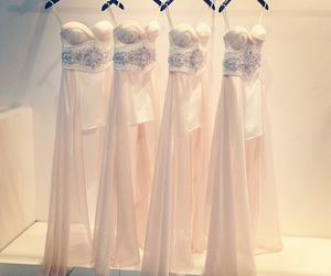 dress, luxury, and white image