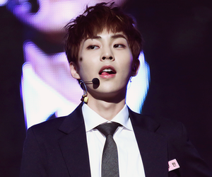 xiumin, exo, and minseok image