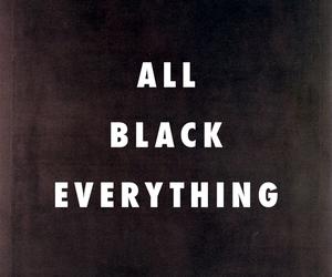 black, grunge, and everything image