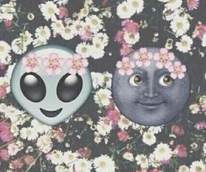 flowers, alien, and background image