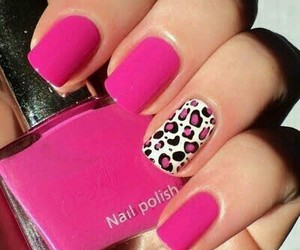 luxury, nail, and pink image
