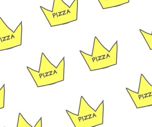 background, crown, and pizza image