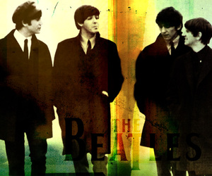 music, beatles, and the beatles image