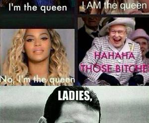 Queen, funny, and beyoncé image