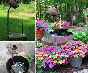 diy teapot fountain image