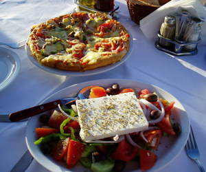 food, Greece, and healthy image