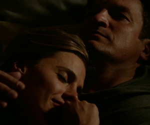 nathan fillion, stana katic, and mr and mrs castle image