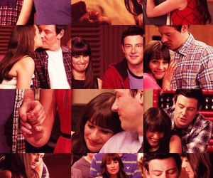 glee, rachel berry, and finchel image