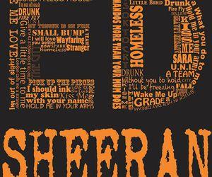 ed sheeran, ed, and Lyrics image