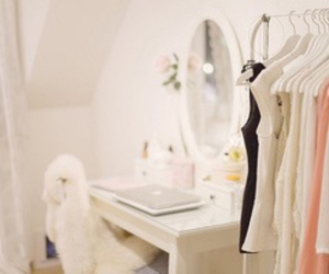 clothes, room, and girly image