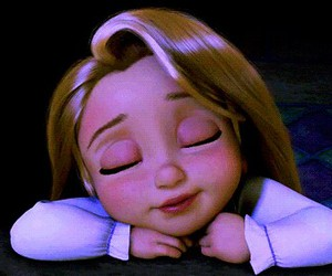 cute, tangled, and disney image