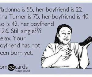 funny, boyfriend, and single image