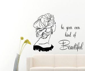 wall decals, beauty salon, and wall quotes image