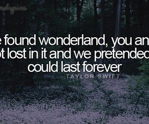 Lyrics and Taylor Swift image