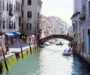 venice and watercolor image