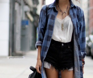 accessories, blouse, and blue image