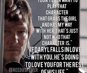 norman reedus, bethyl, and daryl dixon image
