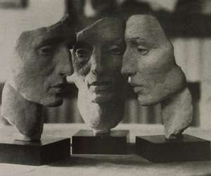 face, art, and sculpture image