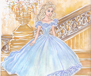 ballroom, cinderella, and gown image