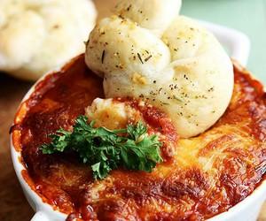 dip and lasagna image