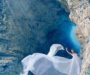 dress, photography, and blue image