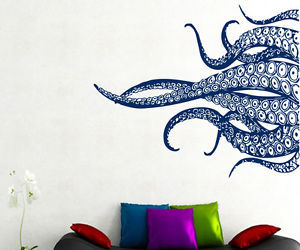 wall decals and octopus wall decor image
