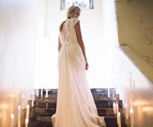 bride, dress, and gown image