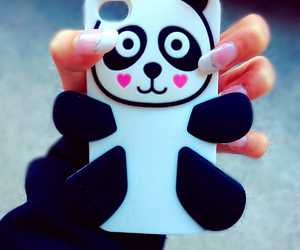 case, panda, and iphonecase image