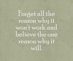 quote, reason, and believe image