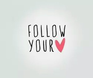 heart, follow, and quote image