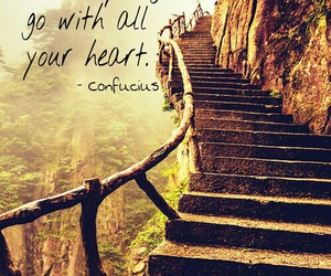 confucius, going, and heart image