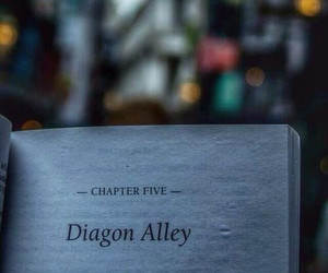 harry potter, book, and diagon alley image