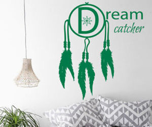 dream catcher and wall decals image