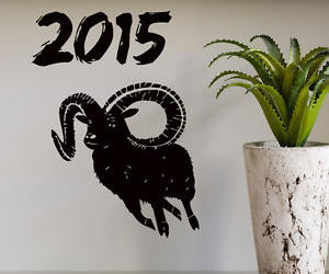 happy new year and wall decals image