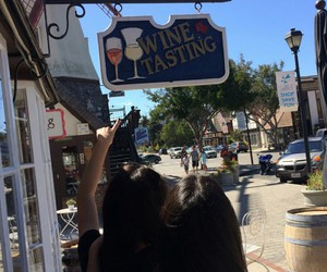 wine, tasting, and solvang image