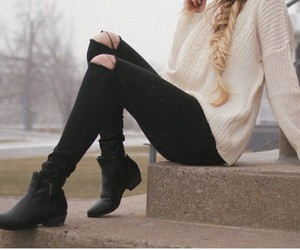 beautiful, hair, and fashion style image
