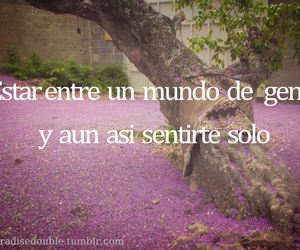 alone, frases, and tumblr image
