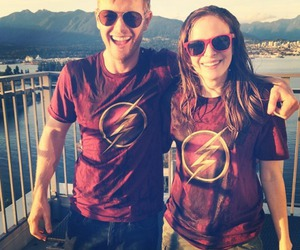 danielle panabaker and flash image