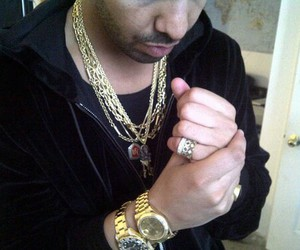Drake, gold, and rich image