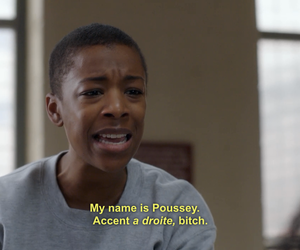 orange is the new black, poussey, and prison image