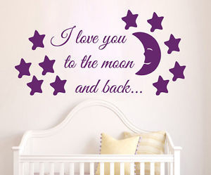I Love You, wall quotes, and kids room decor image