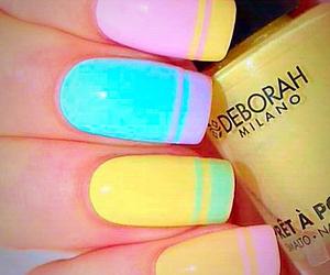 bright, bubblegum, and nail art image