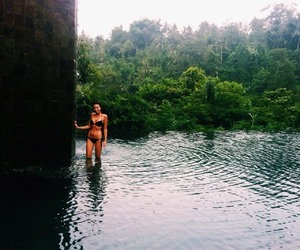 girl, nature, and paradise image