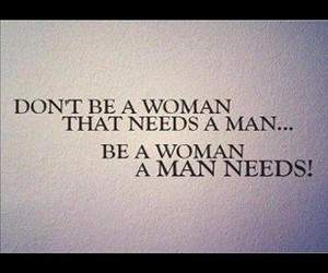 quote, woman, and man image