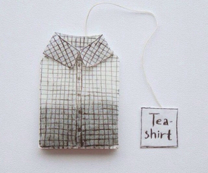 tea, shirt, and grunge image