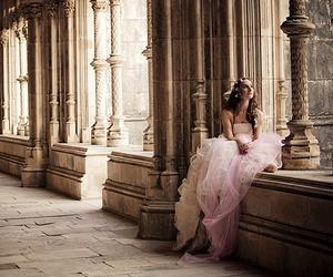 girl, princess, and dress image