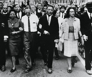 history, martin luther king, and rosa parks image